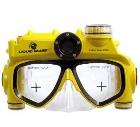 schnorchelbrille mit video kamera
