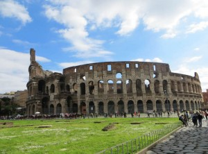 Riese nach Rom - Kolosseum