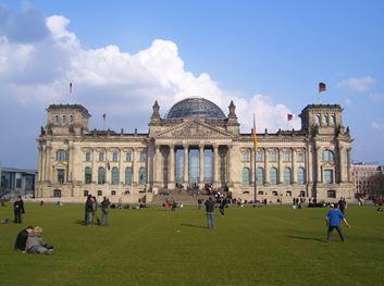 Reichstag Gebäude in Berlin