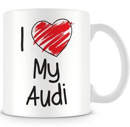 Audi Kaffeebecher / Audi Kaffeetasse